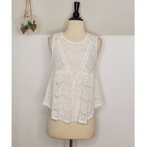Sophie Rue Sheer Lace Tank